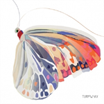 3 Paper Napkins for Decoupage / Parties / Weddings - Corfu Butterfly
