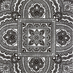 3 Paper Napkins for Decoupage / Parties / Weddings - Black & White