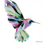 3 Paper Napkins for Decoupage / Parties / Weddings - Corfu Hummingbird
