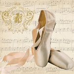 3 Paper Napkins for Decoupage / Parties / Weddings - Ballett