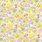 Liberty of London Betsy Yellow Tana Lawn Fabric Fat Quarter