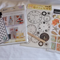 SCRAPBOOKING MIXED LOT - CARDS, STENCIL ETC.