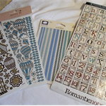 SCRAPBOOKING MIXED LOT - STICKERS ETC.