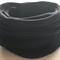 10 Thin Black Super Soft Stretchy and Thin Nylon Elastic  Baby Headbands