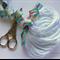 10 White Super Soft Thin Stretchy Nylon Elastic Headbands