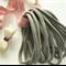 10 Grey Super Soft and Stretchy Thin Nylon Elastic  Baby Headbands