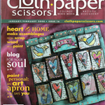 CLOTH PAPER SCISSORS, Craft destash, Mixed Media, Jan/Feb 2008, Issue 16