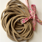 10 Nude Super Soft Stretchy  Wholesale Nylon Elastic  Headbands One Size Fits