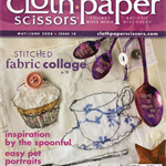 CLOTH PAPER SCISSORS, Craft De-stash, May/June 2008, Issue 18