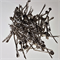 100 x Small 45mm silver coloured bobby pins with 8mm pad *seconds*