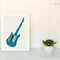 Electric Guitar Applique Template, Music, DIY, PDF Pattern for Children