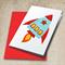 Rocket Applique Pattern. Spaceship PDF Template. Boys Applique Design
