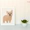 Yorkie Applique Template, Yorkshire Terrier Dog, DIY, Children, PDF Pattern