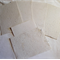 HANDMADE PAPER X 5 SHEETS PLUS 1 FREEBEE.