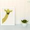 Baby Giraffe Applique Template, Animal, DIY, Children, PDF Pattern