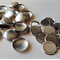 20 x Self cover buttons size 36 (23mm) - Flat Back