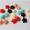 20 x flower resin cabochons