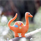 Dinosaur Pattern. Dinosaur Softie PDF Sewing Pattern. Stuffed Dinosaur