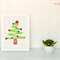 Christmas Tree Applique Template. PDF Pattern by Angel Lea Designs