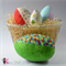 Fabric Eggs Sewing Pattern - 4 sizes ~, Soft Toy, Easter