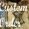 CUSTOM ORDER Listing for TARNIA, Wooden Blocks, 4x7R