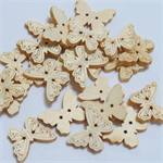 30 Butterfly Buttons