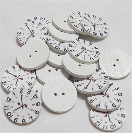 20 Clock Buttons