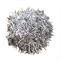 Metallic Silver Pom Pom Ball 5-6cm Craft Garland