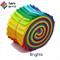"20 x 2.5"" Brights Jelly Roll, Precut Fabric Strips, Cotton"