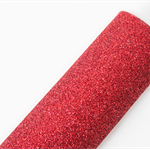 Glitter Felt A4 Sheet Red Great to make party hats or garlands, hair clips