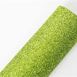 Glitter Felt A4 Sheet Green Great to make party hats or garlands, hair clips