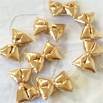 Metallic Gold Bow for hair clip, headband, garland