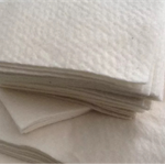 "40 x 10"" x 10"" Cotton Batting Quilt As You Go QAYG precut squares, 100% cotton"