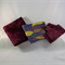 Remnants, quilting, crazy patchwork, craft, sewing, stash build, MAROON