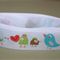 "7/8"" BIRD GROSGRAIN RIBBON - 1 M"