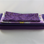 Remnants, quilting, craft, crazy patchwork, sewing, stash builder, PURPLE