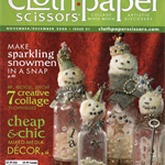CLOTH PAPER SCISSORS, Nov/Dec 2008 Issue 21