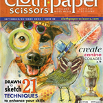 CLOTH PAPER SCISSORS, Sep/Oct 2008 Issue 20