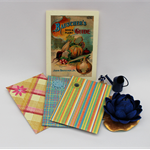String tie medium envelopes, journal pocket, money envelope, ephemera storage