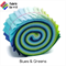 "20 x 2.5"" Blues & Greens Jelly Roll, Precut Fabric Strips, Cotton"
