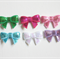 6 x sparkly bows