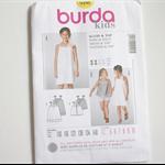 Burda Kids 9490 - Dress and top pattern