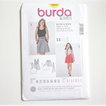Burda Kids 9489 - Skirt and Dress pattern