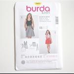 Burda Kids 9489 - Skirt and Dress pattern