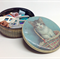 VINTAGE BUTTONS, Sewing Notions, Haberdashery, Buckles,  Kitten Sweets Tin