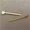 20pcs - Strong hold - Bobby Pins - Gold