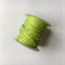 Green 1mm waxed cotton cord
