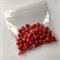 100gm red beads