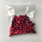 140gm purple & fuchsia beads