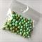 100gm green beads